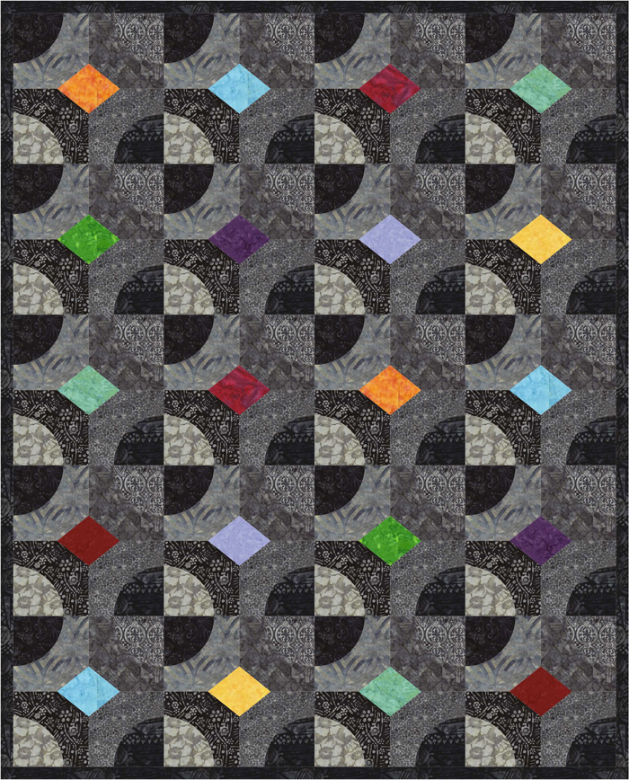 Intermediate Quilting Patterns : Gibb s Garden Quilt Pattern PS-940 (intermediate, lap and throw)