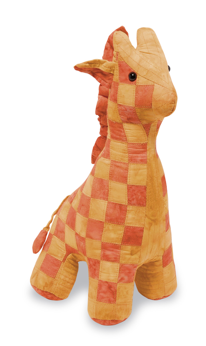 Giraffe Stuffed Animal Pattern Rqs 203 Intermediate Baby Children