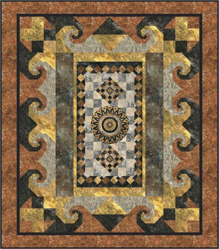 PickAPanel Quilt Pattern GTD40 intermediate Interesting Quilt Patterns Using Panels