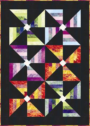Dressy Cat Foundation Paper Pieced Quilt Block Pattern