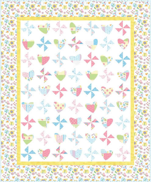 Beginner Quilt Patterns For Baby : beginner baby quilt patterns