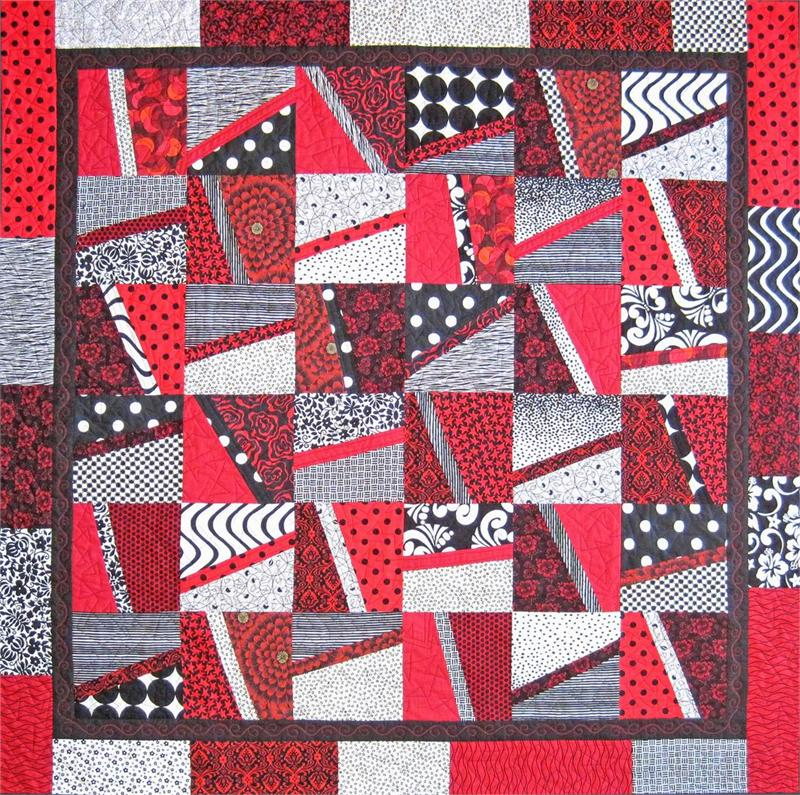 Fire And Ice Quilt Pattern Sm 116