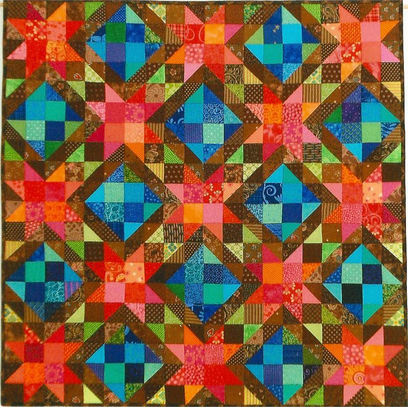 Northern Lights Quilt Pattern SP-103 (beginner, wall hanging)
