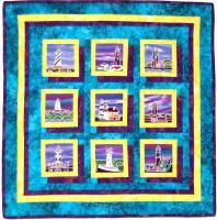 Floating Treasures Quilt Pattern AA-07