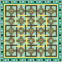 Chinese Puzzle Quilt Pattern AA-14