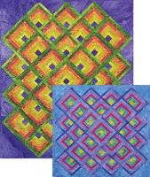 Rippling Logs Quilt Pattern AA-24