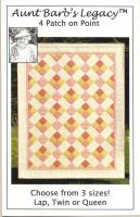 4 Patch on Point Quilt Pattern ABL-1001