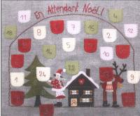 En Attendant Noel (Until Christmas) Embroidery Pattern ADI-102