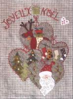 Joyeux Noel (Merry Christmas) Embroidery Pattern ADI-104