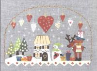 La Nuit De Noel (Christmas Night) Embroidery Pattern ADI-105