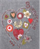 Coeur Folklo (Folk Heart) Embroidery Pattern ADI-110