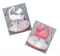 Pique Epingle Chat (Cat Pincushion) Pattern ADI-111