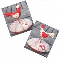 Pique Epingle Poule (Hen Pincushion) Pattern ADI-112