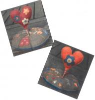 Pique Epingle Coeur (Heart Pincushion) Pattern ADI-118