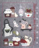 Bienvenue Dans Ma Cuisine (Welcome In My Kitchen) Pattern ADI-119
