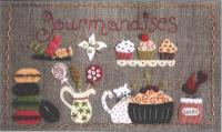 Les Gourmandises De Camille (The Delicacies From Camille) Pattern ADI-133