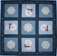 Let It Snow Quilt Pattern AEQ-09
