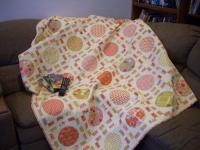 Pizza and a Movie Quilt Pattern AEQ-35