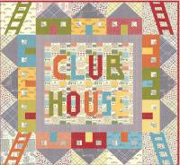 Club House Quilt Pattern AEQ-58