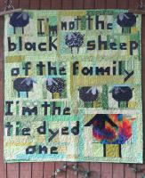 Tie Dyed Sheep Quilt Pattern AEQ-82