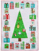 Advent Calendar Wall Hanging Quilt Pattern AQ-108