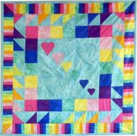 Colors a' Plenty Quilt Pattern AV-109
