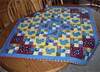 Birds, Bees and Butterflies Quilt and Placemat Pattern AV-113