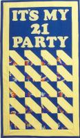 It's My Party Signature Banner Pattern AV-122