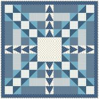Blue as the Moon Quilt Pattern AV-171