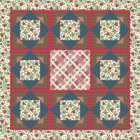 Three Squares Quilt Pattern AW-08