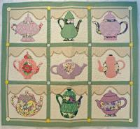 Teapot Collection Quilt Pattern BAD-045