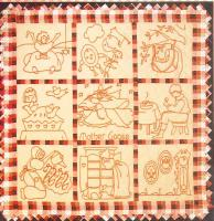 Mother Goose Redwork Embroidery Pattern BAD-050