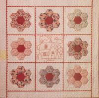 Grandmother's House and Garden Quilt Pattern BAD-057