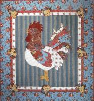 Rooster Reveille Quilt Pattern BAD-100