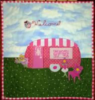 A Glamping We Will Go Quilt Pattern BAD-207