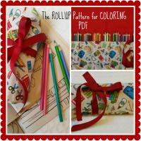 The Rollup for Coloring Pattern BAD-801