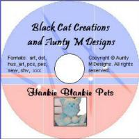 Hankie Blankie Pets CD Pattern  BCC-048CD