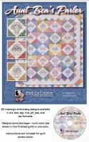 Aunt Bea's Parlor Machine Embroidery CD Pattern BCC-104