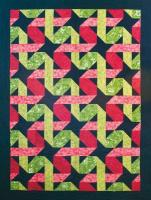 Twisting Ribbons Quilt Pattern BCC-218e