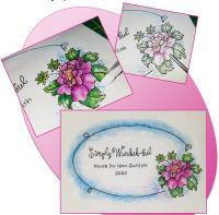 Simply Wonderful Labels Frames and Motifs Embroidery Pattern BCC-284e