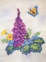 Butterfly Garden BOM - Block 7 Embroidery Pattern BCC-BG07