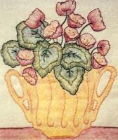 Grandma's Potted Treasures BOM - Block 11 Embroidery Pattern BCC-GPT11
