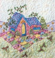 Periwinkle Lane BOM - Block 9 Embroidery Pattern BCC-PL09