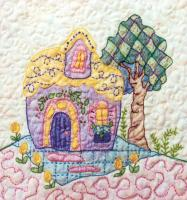 Periwinkle Lane BOM - Block 10 Embroidery Pattern BCC-PL10