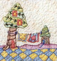 Periwinkle Lane BOM - Block 12 Embroidery Pattern BCC-PL12