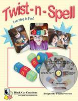 Twist-n-Spell 2 Block Set Machine Embroidery CD Pattern BCC-TNCD