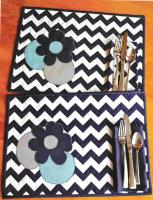 Mix and Match Placemats and Napkins Pattern  BGQ-1302