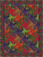 Let's Dance Quilt Pattern BL2-106