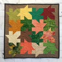 Interlocking Leaves Quilt Pattern BL2-155