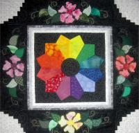 Plate in the Garden Quilt Pattern BS2-202
